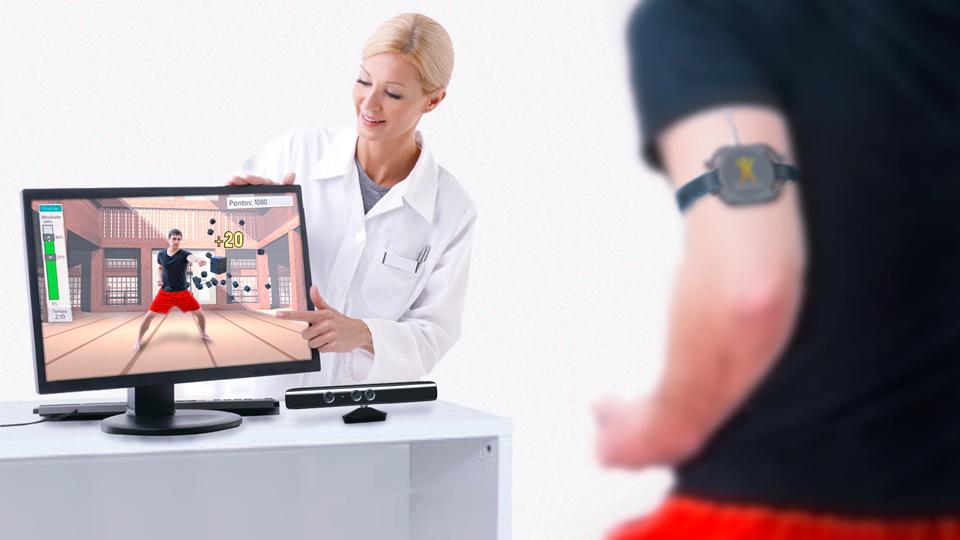 O grande diferencial do BioMovi na Reabilitação Virtual e Gameterapia