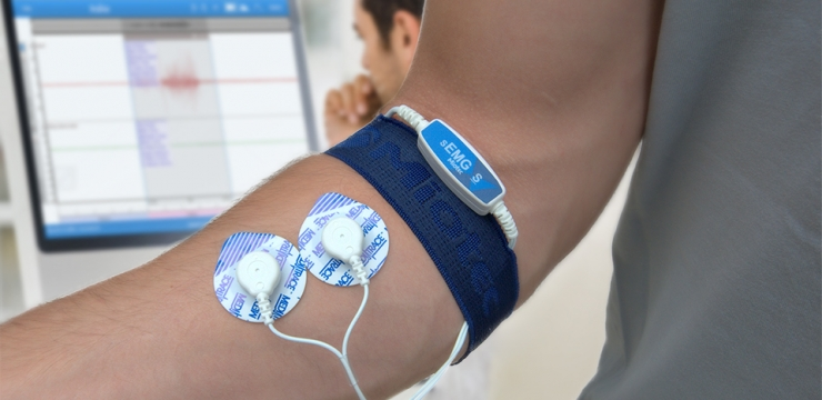 Biofeedback Eletromiográfico: sensores de eletromiografia que captam a atividade elétrica