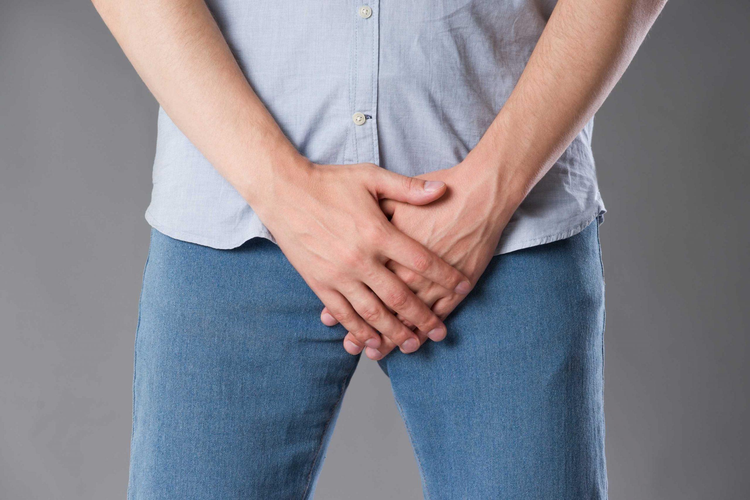 fluxo urinário fraco