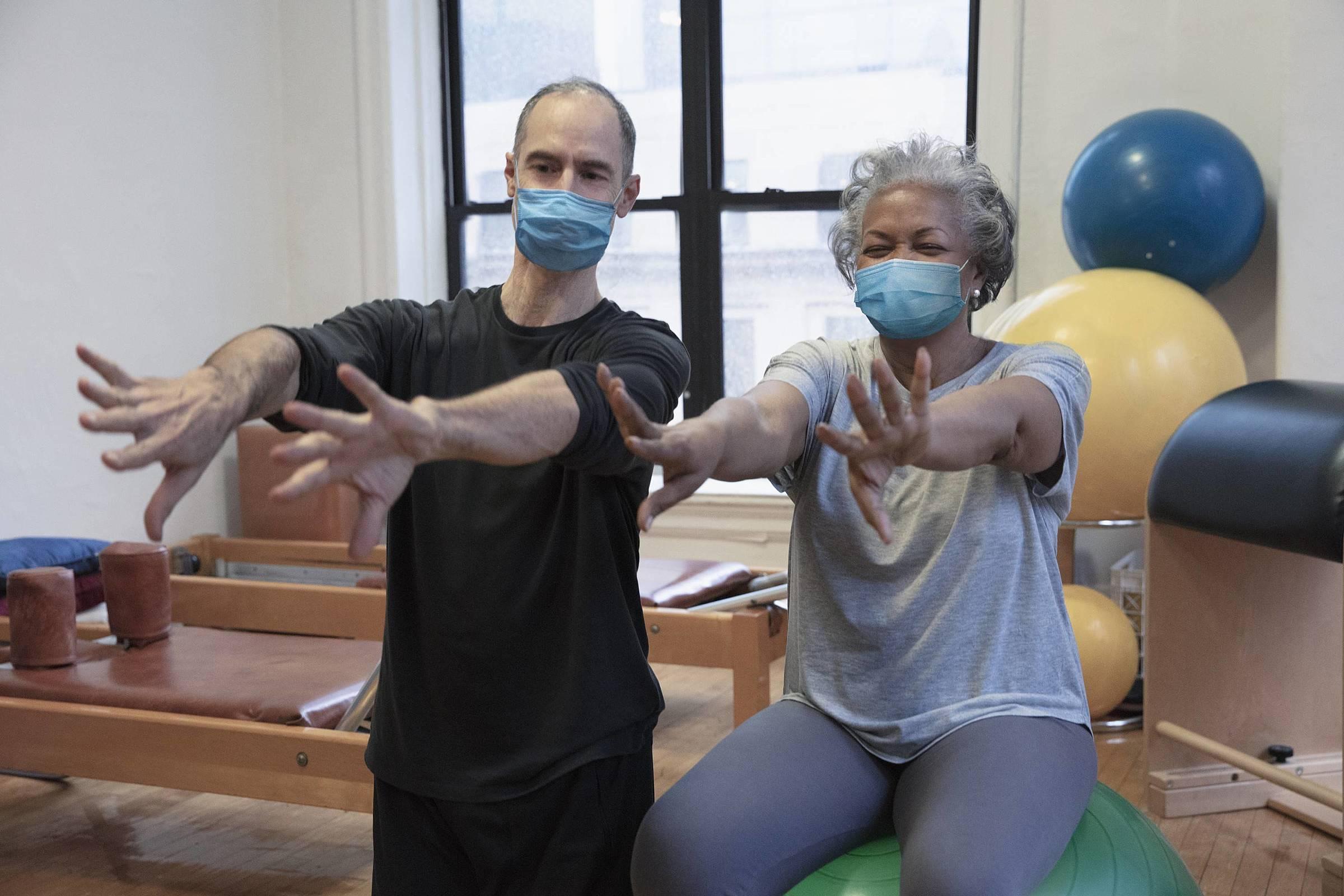 cenário da fisioterapia