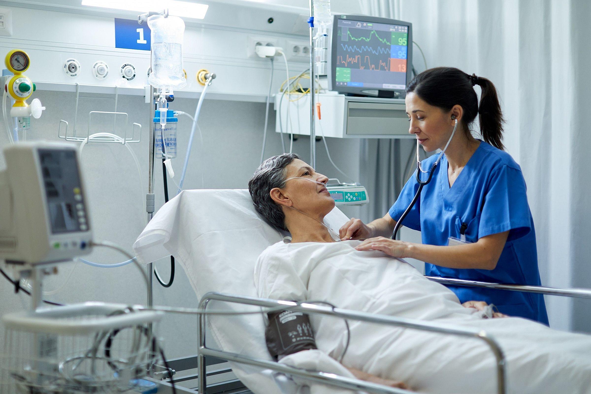 Conheça as patologias que pacientes que ficaram internados muito tempo podem desenvolver